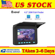 4.3 20m Fish Finder Used 6-8 Hours 8pcs Ir Led Underwater Fishing Video Camera