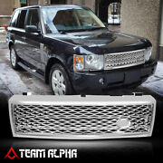 Glossy Chrome Autobiography Style Grille/grill Fits 03-05 Range Rover Hse Sport