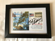 Hank Williams Jr Autographed Css Tennessee Confederate In Matted 5x7 Frame W/coa