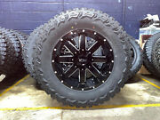 20x10 Ion 141 37 Mt Black Wheel And Tire Package 5x5 Jeep Wrangler Jk Jl Tpms