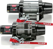 Warn 101040 Vrx 45-s 4500 Synthetic Rope Winch Warn