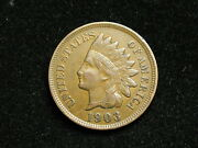 Blow Out Sale Xf 1903 Indian Head Cent Penny W/ Diamonds And Full Liberty 174i