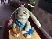 Talking Sofia The First Dance With Me Clover Blue Ribbon Bunny Rabbit Toy
