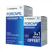 Arkopharma Forcapil Hair And Nails Intensive Program 240 Capsules - 4 Months