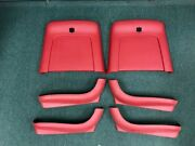 Used 69-72 Chevelle Bucket Seat Backs And Side Covers 6 Piece Kit For Both Seats