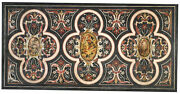 48 X 24 Marble Top Table Designs Inlaid Semi Mosaic Collectible Stone Gift