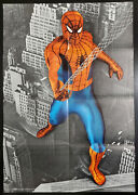 Spider-man Photo Poster 1973 Marvel Value Stamp Book Series A Mail-away 18x24