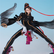 Game Bayonetta Action Figure 14/16 Scale Umbra Witch Resin Statue Collectible