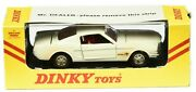 Dinky Toys 161 Ford Mustang Fastback 2+2 Ovp 143 Meccano