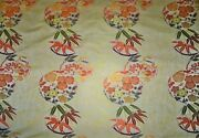 Kravet Couture Asian Chinoiserie Imperial Kimono Silk Brocade Fabric 10 Yards