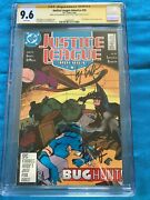 Justice League 1987 26 -dc - Cgc Ss 9.6 -signed By Maguire, Templeton
