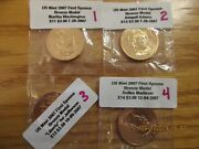 Us Mint Set 2007 To 2011 First 21 First Spouse Medals In Original Mylar