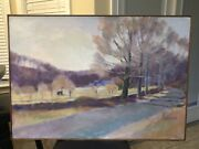 Early Original Oil On Linen Larry Horowitz Painting Open To Offers