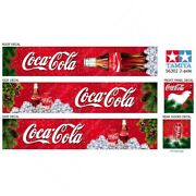 Tamiya 14th Scale 56302 Reefer Box Trailer Coca-cola Roof Decals Stickers Kit