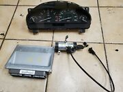 1999 2000 2001 2002 Jaguar S-type Cluster Ecm Ignition With Key From Same Car