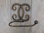 Iron Toilet Paper Holder Transitional Modern Contemporary Bathroom Hardware New