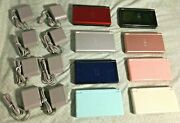 Original Nintendo Ds Lite Gameboy Gba Ds Games Charger Stylus Black Pink Teal Wh