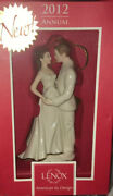 Lenox 2010 Always And Forever Bride And Groom Wedding Ornament In Box