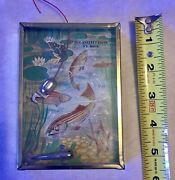 """Antique 1920's Fish Toy Game """"fishing Game"""" Bar-zim Toy Mfg. Co. Inc. New York"""