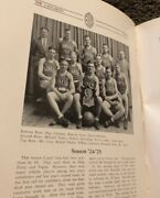 1925 Yearbook Frankfort High School Indiana Everett Case Basketball State Champs