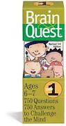 Brain Quest Grade 1 Revised 3rd Edition 750 Q And A To Challenge The Mind