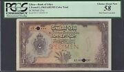 Libya One Pound L1963/ah1382 P25ct Color Trial About Uncirculated