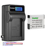 Kastar Battery Lcd Wall Charger For Dmw-bcm13 Bcm13e And Panasonic Lumix Dmc-zs30s