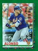 065 Ssp 🚨 2019 Topps Holiday Pete Alonso Rc Photo Variation Red Socks Hw71