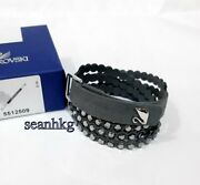 Power Collection Bracelet Adjustabl Gray Crystal Authentic New 5512509