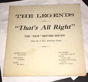 The Legends Ultra Rare Mystery Garage Band Demo 10 Mersey Beat Surf Rock Lo-fi