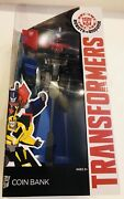 New 15 Optimus Prime Or Bubble Bee Coin Bank Transformers Kids Toys