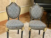 Pair Of Vintage Accent Chairs France Xix Century French Style