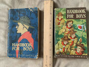 2 Boy Scout Books And 2 Scout Shirts
