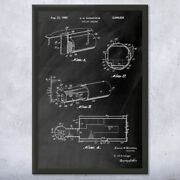 Framed Fallout Shelter Wall Art Print Cold War Art Security Decor Security Gifts