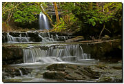 Summerhill Force/gibsons Cave ... 30 X 20 Canvas Waterfall Photography