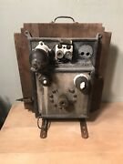Antique Automotive Electric Battery Charger Electrical Car Gauge Meter Tester
