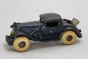 Vintage Rare Cast Iron 1930's A.c. Williams 5 Sports Coup With Rumble Seat