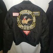 Operation Iraqi Freedom Convoy Truck Driver Jacket Insulated 2xl