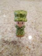 Fisher Price Little People Rare Military Hero Army Soldier Camouflage Limited Ed