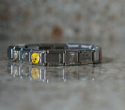 Womens Italian Charms Bracelet Rock Hand Sign Mickey Mouse Tweety Bird Quilting