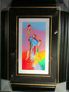 Peter Max Statue Of Liberty 2015 Serigraph On Woven Paper 153/495 Stamped