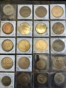 Estate Find Token And Coin Collection Lot Must See, Some Great Old Tokens Here