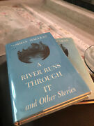 Norman Maclean / A River Runs Through It First Edition 1976 Second Printing