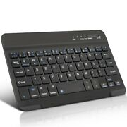 Rechargeable Ultra Slim Wireless Keyboard, Portable Compact For Smartphones