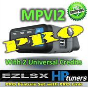 Hp Tuners Mpvi2 Vcm Suite With Pro Features 2 Credits Free Expedited Shipping