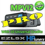 Hp Tuners Mpvi2 Vcm Suite With Pro Features 10 Credits Free Expedited Shipping
