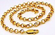 18 Inches 20 Gold Awesome Chain Necklace Belcher Linked Chain Motherand039s Day Gift