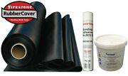 Rubber Roofing Kit For Flat Roofs Firestone Epdm Membrane And Adhesives Only