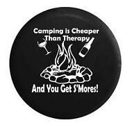 Spare Tire Cover Camping Is Cheap And You Get Sand039mores Travel Rv Accessories