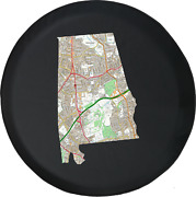Spare Tire Cover Alabama - Streets Travel Map Jk Accessories